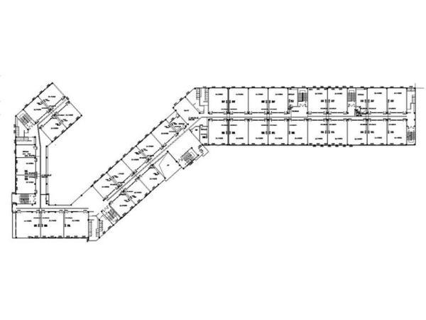 某学院新校区综合布线系统拓扑图