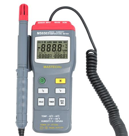 MS6503高精度数字温湿度表