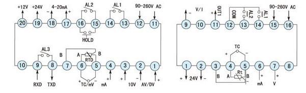 压力传感器显示控制表