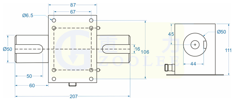 300NM步进电机扭矩传感器,旋转扭矩测速传感器