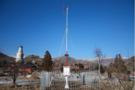九州空间成功安装五台山景区自动气象站