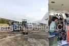 中国首套机载植物荧光高光谱系统AisaIBIS成功安装试飞