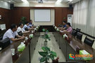 馬鞍山市委組織部專程來安徽工業大學致謝防汛抗洪工作