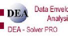 DEA-Solver Pro  数据包络分析软件