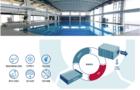 北京市八一学校保定分校装配室内恒温恒湿游泳馆