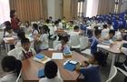 国内首家中小学智适应阅读?#25945;ā?#26592;檬悦读走进深圳荔香小学