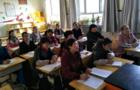高台国庆小学数学组进行希沃5电子白板培训