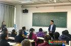 山西大學商務學院領導親赴課堂指導教學