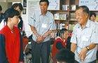 唐山松下产业机器有限公司为学校捐建图书阅览室