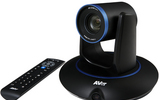 圓展AVer PTC500S超大廣角多場景 視頻會議錄播教學專用 1080P高清30倍光學變焦網絡全景追蹤攝像機