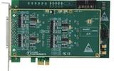 国控精仪PCIe总线高速同步采集卡(250K-80MS/s,2-16路同步波形输入,任意波形输出卡)