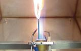 绝缘电线电缆单根垂直燃烧试验装置