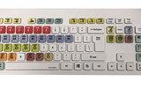 标准专业彩色键盘