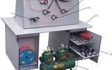 液压传动实验室、液压PLC实验室、气动液压PLC实验室、电梯模型、建筑实验室设备