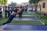 山东省菏泽市双语实验学校中考体育测试仪现场案例