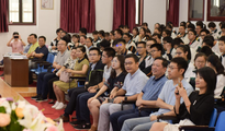 璞睿北大校友会助学金在武汉四十九中成立