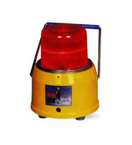 LA-2型边界灯只用电池,属小型射线报警灯