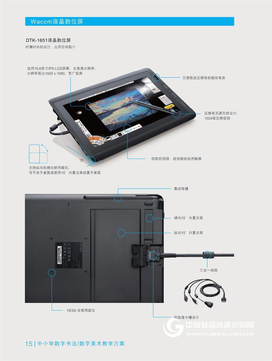 DTK-1651液晶数位屏