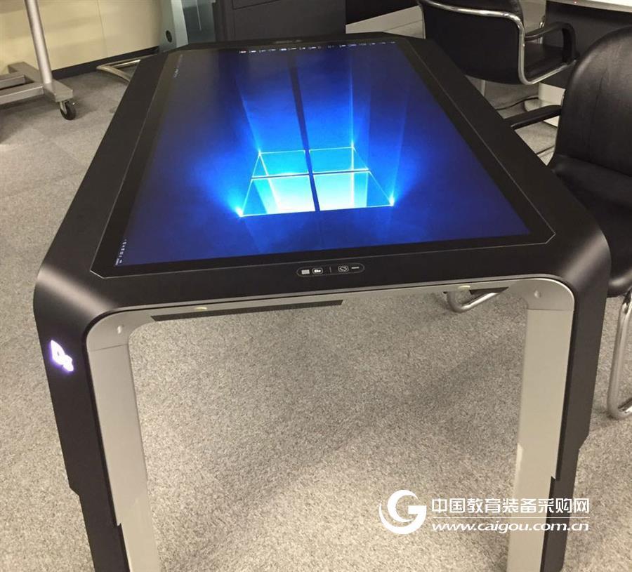 安信思拓智能升降觸摸桌 55英寸超高清分辨率