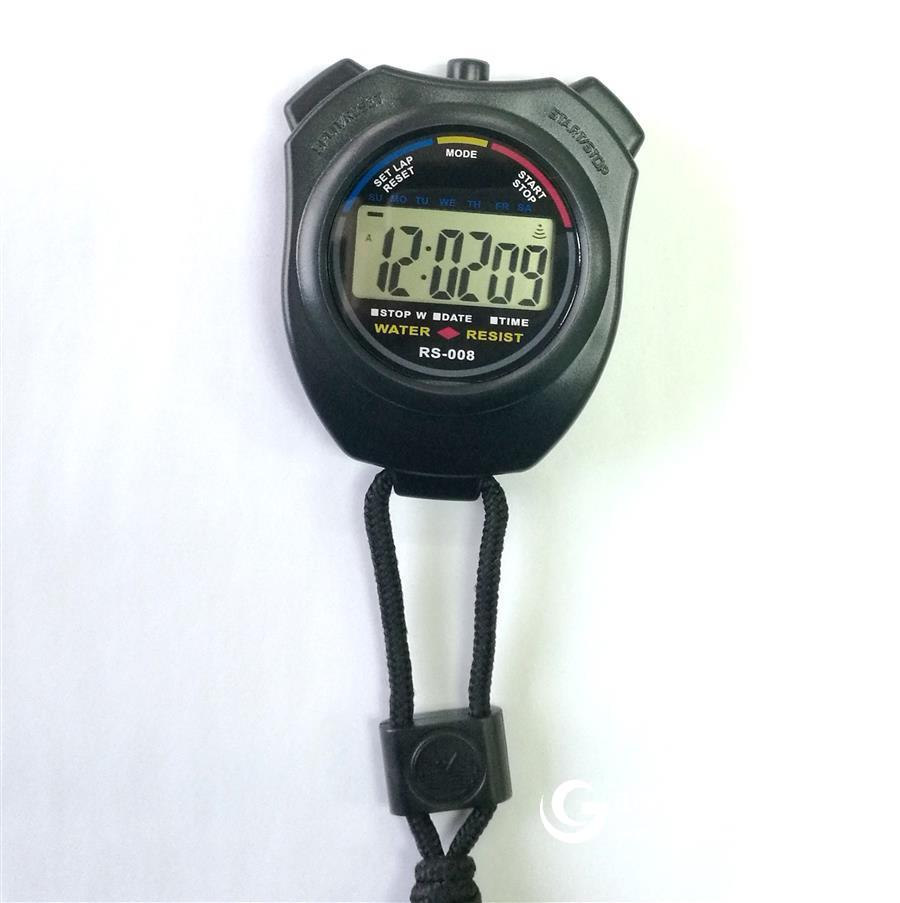 厂家直销 电子秒表 跑步计时器 防水码表 户外定时器 运动秒表