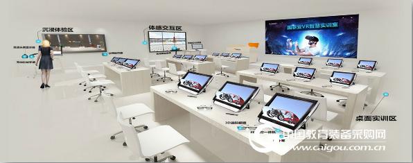 VR智慧實訓室解決方案 (VR教學實訓方案)