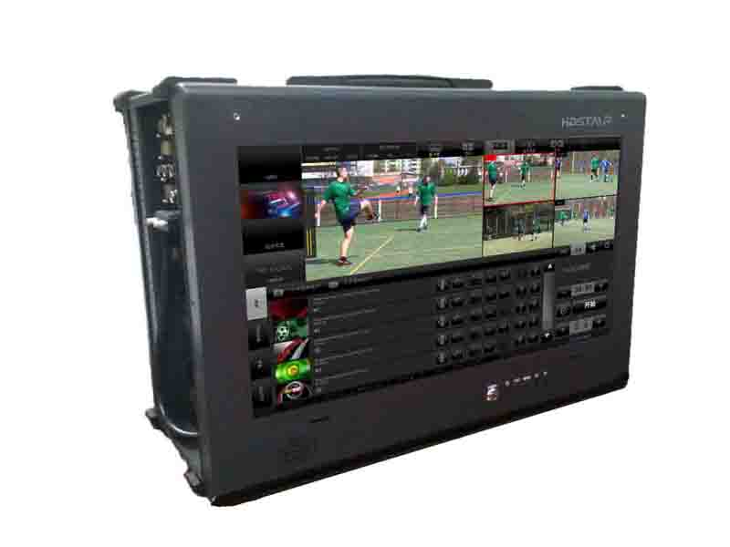 HDStar CASE 400便攜式制播系統 可同時在線直播、轉播、多平臺的實時編碼直播 制播系統