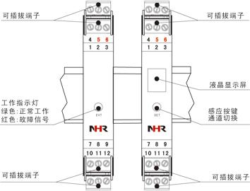 智能频率转换器、开关量隔离器、数学运算器、通讯转换器虹润产品