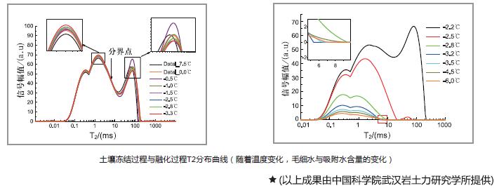 核磁共振应用岩土孔隙结构分析和孔隙度测量