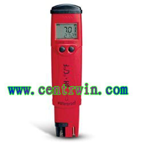 笔式酸度计/笔式PH计/温度笔式测定仪(防水型) 意大利 型号:CEN/HI98128
