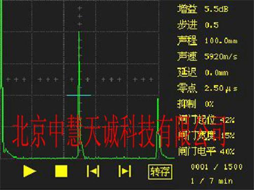 便携式数字超声探伤仪 型号:STCTS-9006
