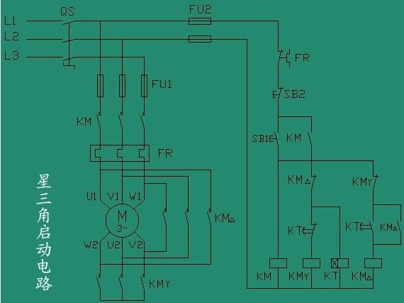 水泵控制柜接线图